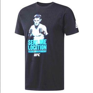 FLAWS Reebok Khabib Nurmagomedov UFC T-shirt Large